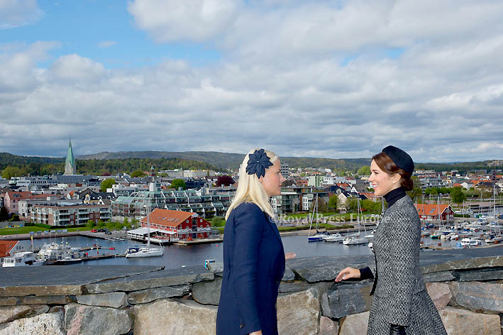 Crown Princess Mary and Crown Princess Mette-Marit Commemorate 150th Anniversary of Battle of Heligoland