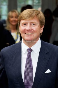 King Willem-Alxander of the Netherlands after the opening of the exhibition about Grace Kelly in Palace Het Loo. Apeldoorn, 03 June 2014 Photo: RPE-Albert Nieboer  NETHERLANDS OUT