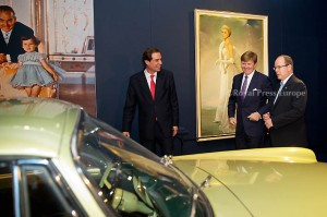 Prince Albert of Monaco and King Willem-Alexander of the Netherlands during  the opening of the exhibition about Grace Kelly in Palace Het Loo. Apeldoorn, 03 June 2014 Photo: RPE-Albert Nieboer  NETHERLANDS OUT