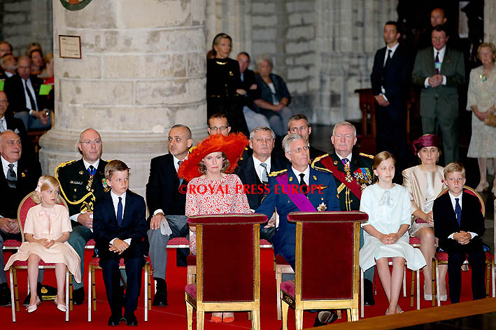 Royal Family Celebrates Belgian National Day