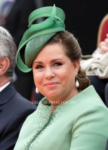 Grand Duchess Maria Teresa in Luxembourg  Festivities on the occasion of the 200th jubilee of the Kingdom of the Netherlands in Maastricht 30 August 2014 PHOTO: Albert Nieboer-Royal Press Europe  NETHERLANDS OUT