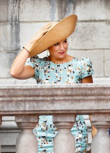Queen Maxima of the Netherlands  Festivities on the occasion of the 200th jubilee of the Kingdom of the Netherlands in Maastricht 30 August 2014 PHOTO: Albert Nieboer-Royal Press Europe  NETHERLANDS OUT