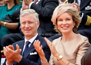 King Philippe and Queen Mathilde of Belgium  Festivities on the occasion of the 200th jubilee of the Kingdom of the Netherlands in Maastricht 30 August 2014 PHOTO: Albert Nieboer-Royal Press Europe  NETHERLANDS OUT