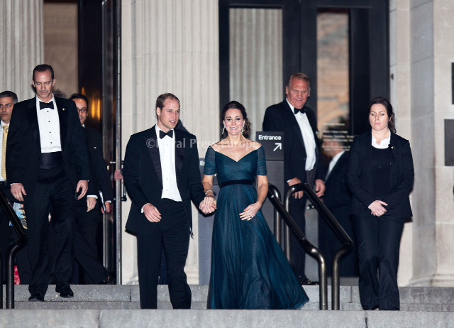 Duke and Duchess Attend St. Andrews Fundraiser in New York