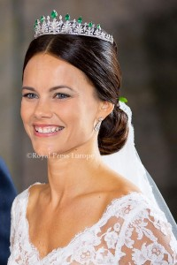 Princess Sofia of Sweden Wedding of Prince Carl Philip of Sweden and Sofia Hellqvist at StockholmPHOTO: Albert NieboerNETHERLANDS OUT