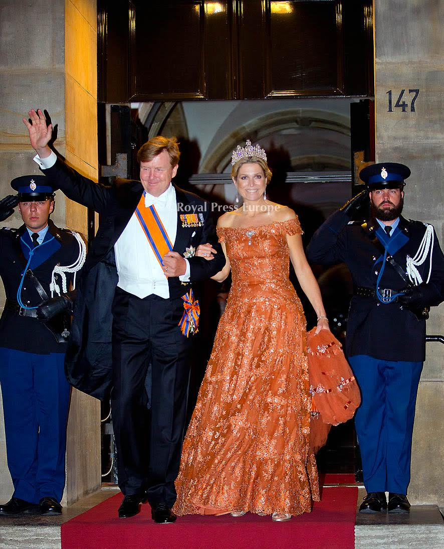 Netherlands's Royal Family Hosts Diplomatic Corps Gala