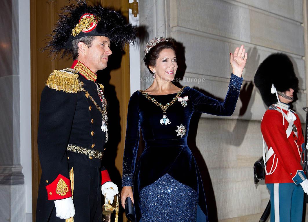 New Years reception at Amalienborg in Copenhagen