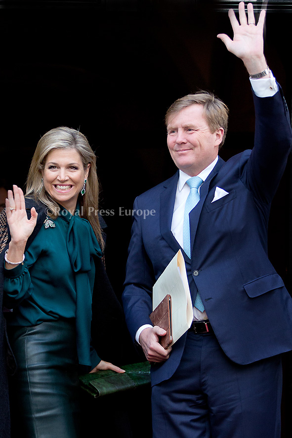 Dutch Royals Host 2016 New Year's Reception
