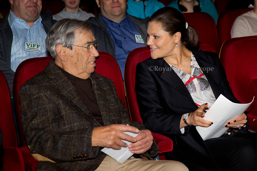 Princess Victoria Attends Holocaust Lecture in Viksjö