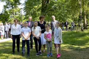 Four of King Harald and Queen Sonja's Grandchildren