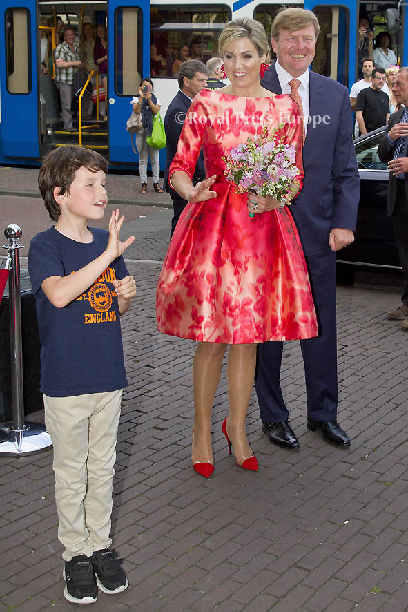 King Willem Alexanderand Queen Maxima of The Netherlands
