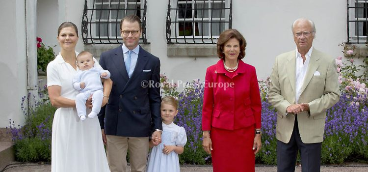 Sweden and Denmark Royal Families