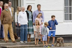 Annual photo session with danish royal family in Grasten in Denmark, 15 july 2016. Photo: Albert Nieboer / NETHERLANDS OUT