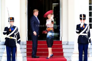King Willem Alexander and Queen Maxima of the Netherlands
