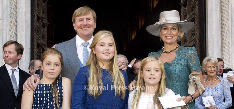 Parma doop Prins Carlos de Bourbon de Parme
