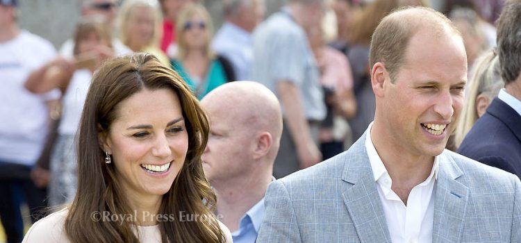 The Duke and Duchess of Cambridge visit to  Cornwall