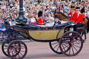 Trooping The Colour Is The Official Annual Celebration Of Queen Elizabeth Of England's Birthday