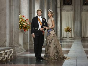 King Willem-Alexander of the Netherlands and wife