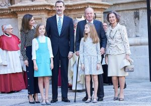 Spanish Royal Family attended Easter Mass in Palma 2018