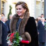 Grand Duchess Maria Teresa of Luxemburg 02-12-2013 LUXEMBURG – LUXEMBURG - Belgium King Philippe and Queen Mathilde for a introduction visit in Luxemburg. Photo: RPE-Albert Nieboer / NETHERLANDS OUT
