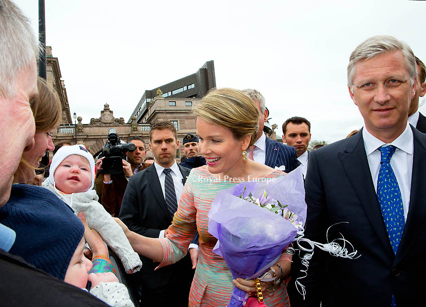 King Filip and Queen Mathilde Make State Visit to Sweden