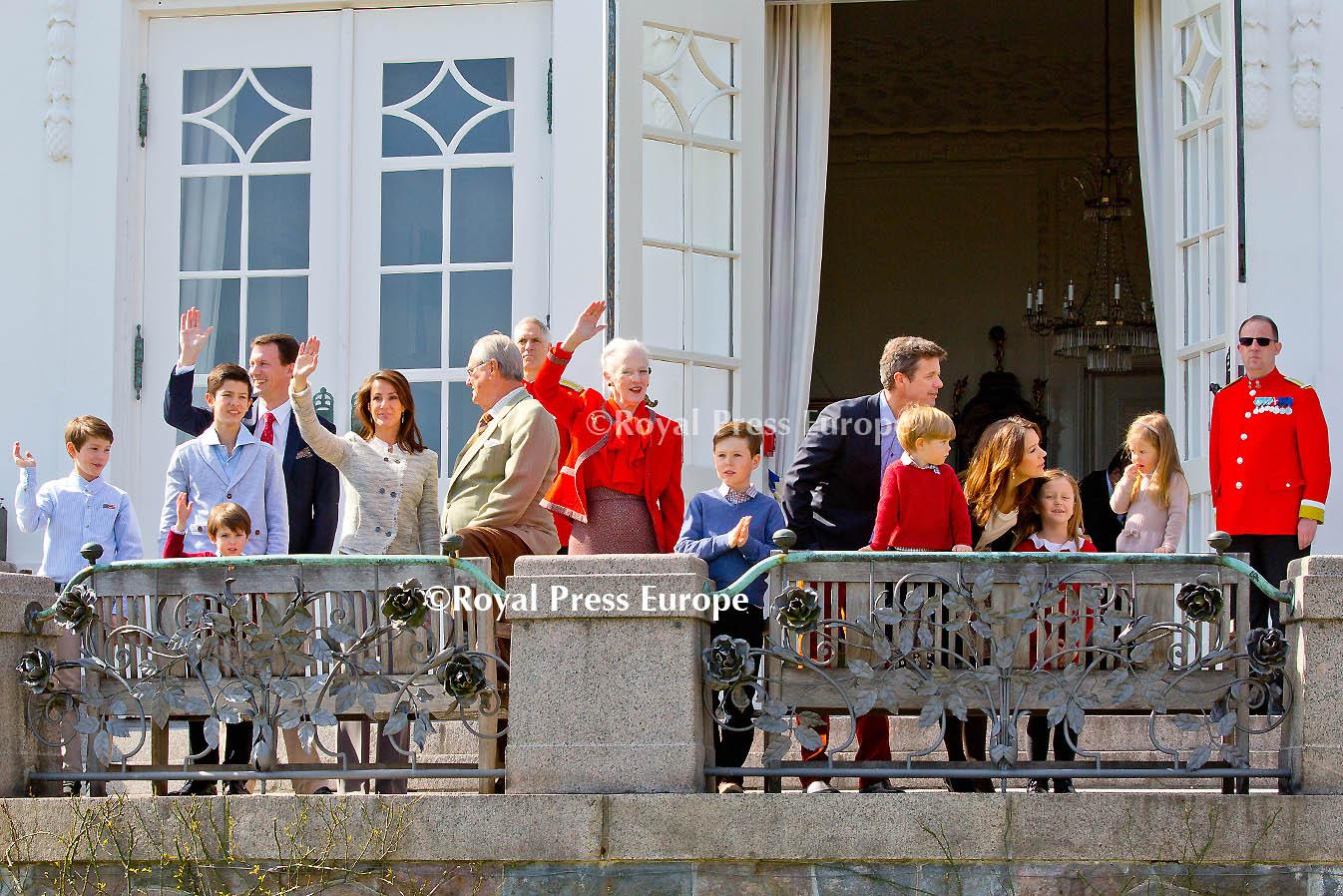 Danish Queen Margrethe Celebrates 74th Birthday