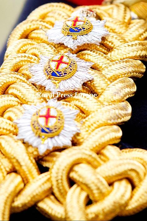 Order Of The Garter Service
