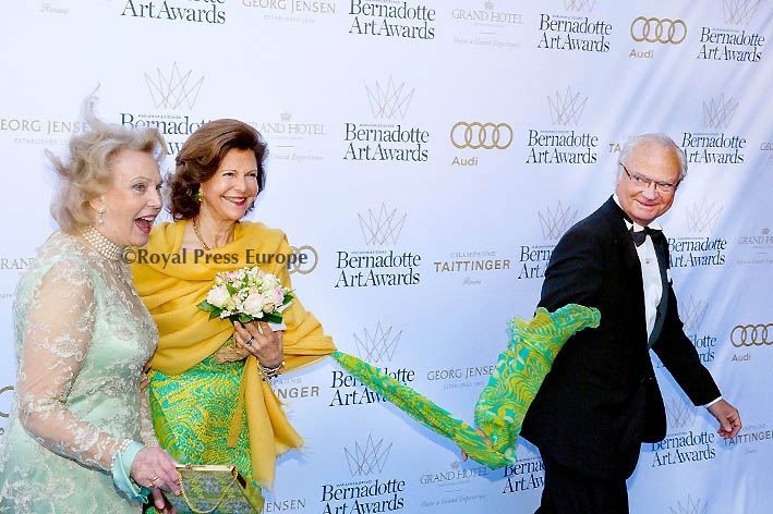 Swedish Royals at the 2014 Bernadotte Art Awards