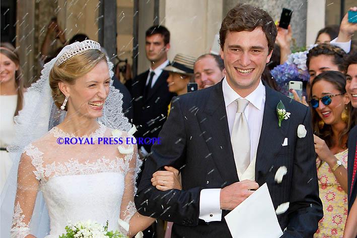 Prince Amedeo of Belgium Marries Elisabetta Maria Rosboch von Wolkenstein
