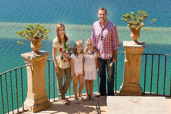 Spanish Royals Vacation at Finca Raixa