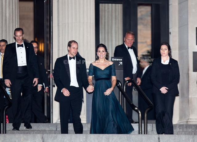 Duke and Duchess Attend St. Andrews Fundraiser in New York