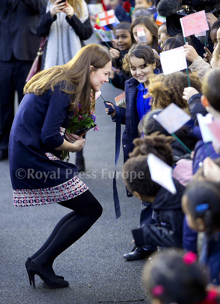 Early 2015 Engagements for Kate, Duchess of Cambridge