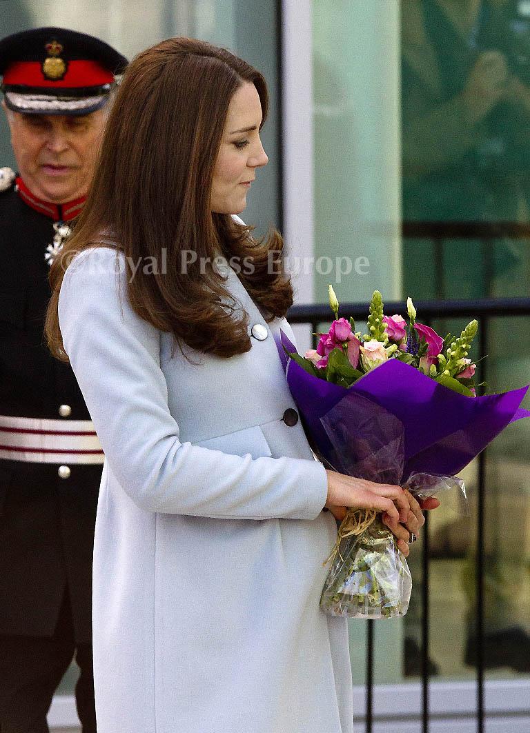 Kate Middleton Opens the Kensington Leisure Centre and Aldridge Academy