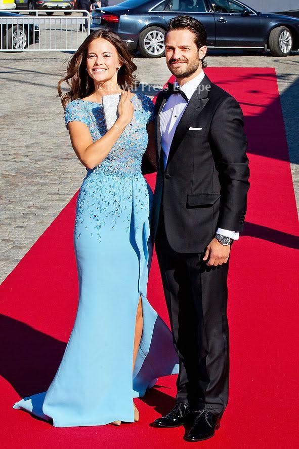 Prince Carl Philip Of Sweden And Sofia Hellqvist Pre-Wedding Dinner