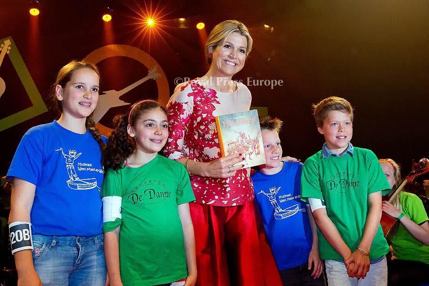 Queen Máxima Attends Children's Concert