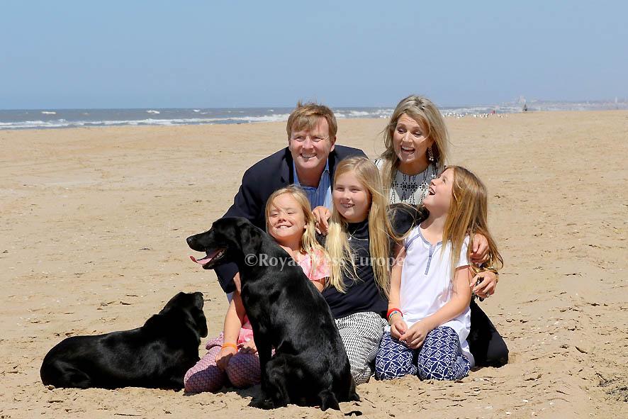 Beach Day for Dutch Royal Family