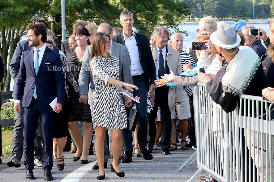 Princess Sofia & Prince Carl Philip visit to Värmland, Day 2