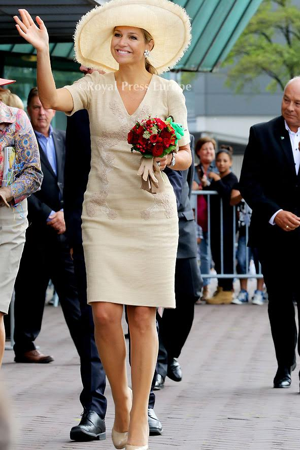 Queen Máxima at the Opkikker Foundation in Amsterdam