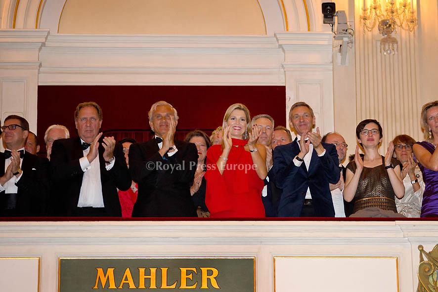 Queen Máxima at Royal Concertgebouw Orchestra season opening