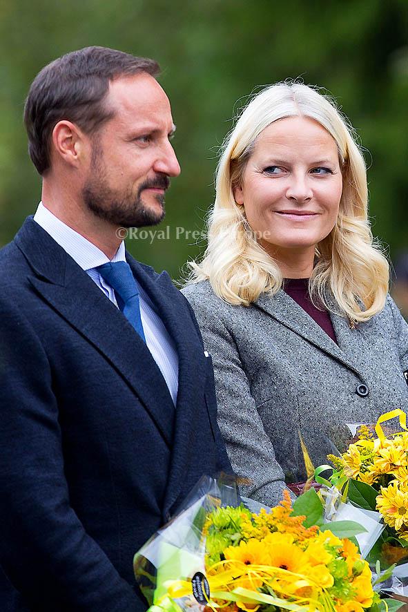 Their Royal Highnesses The Crown Prince and Crown Princess visit Akershus