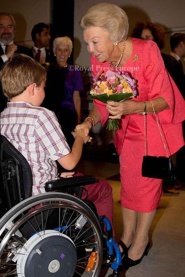 Princess Beatrix at ZST Muscle Fund