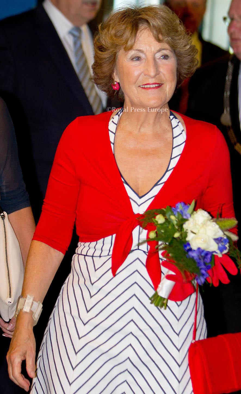 Princess Margriet at 100th anniversary Prins Hendrik Boarding School