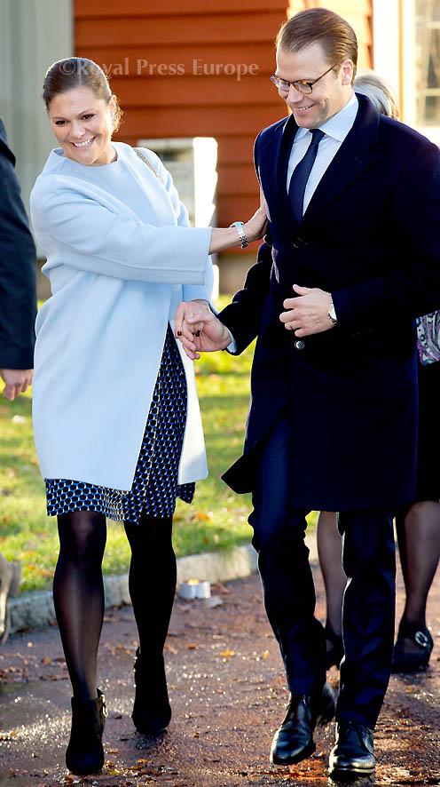 Crown Princess Victoria and Prince Daniel visit Värmland