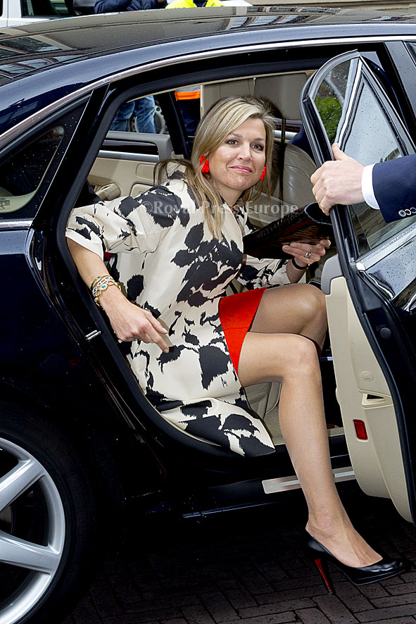 Queen Máxima during the Inspiring Perspectives