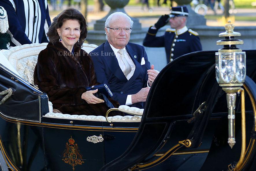 King Carl VVI of Sweden celebrate 70th Birthday