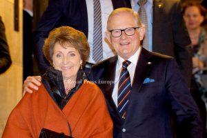 Princess Margriet and husband Pieter Von Vollenhoven