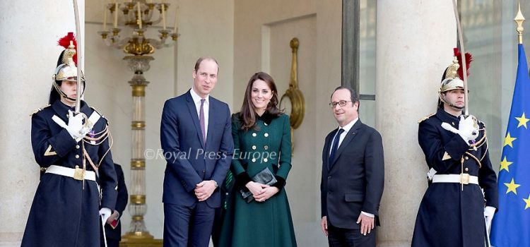 The Duke and Duchess of Cambridge Official Two-Day Visit to Paris