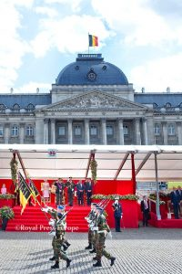 Belgium Military Parade