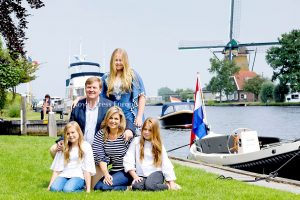 Royal Family of the Netherlands in Warmond